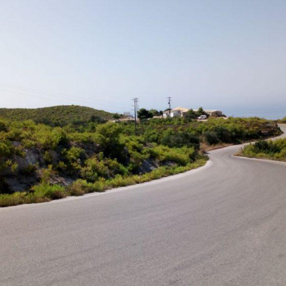 Δρόμος, ο οποίος έχει χαρακτηριστεί δασικός από τον δασάρχη Ζακύνθου.